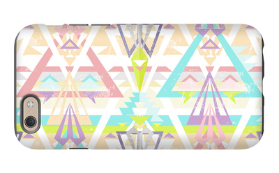 Abstract Geometric Seamless Aztec Pattern. Colorful Ikat Style Pattern. iPhone 6s Case by cherry blossom girl