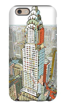 Manhattan iPhone 6s Case by  HR-FM