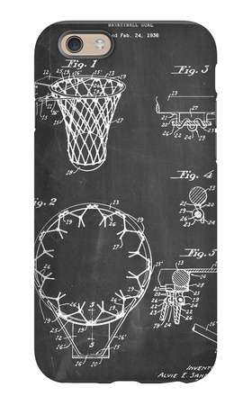 Basketball Goal Patent 1936 iPhone 6s Case