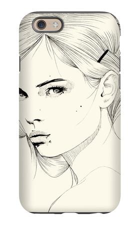 Sutileza iPhone 6s Case by Manuel Rebollo