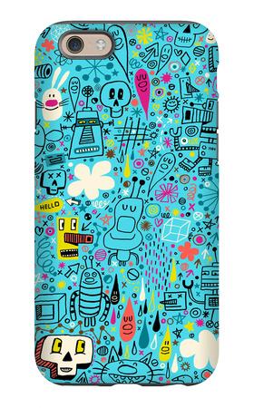 Teen Doodle Art iPhone 6s Case