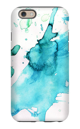 Abstract Watercolor Hand Painted Background iPhone 6s Case by  katritch