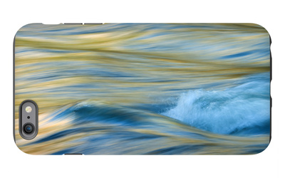 Late Afternoon Light and Merced River Abstract iPhone 6s Plus Case by Vincent James