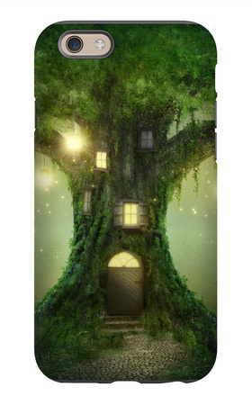 Fantasy Tree House iPhone 6s Case by  egal