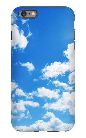 Blue Sky With Clouds And Sun iPhone 6s Plus Case by  Elenamiv
