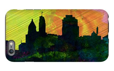 Cincinnati City Skyline iPhone 6 Plus Case by  NaxArt