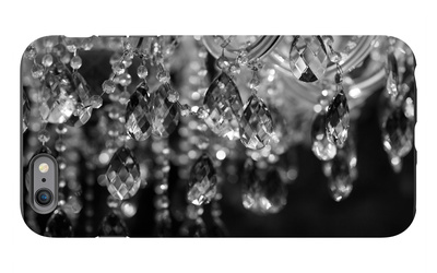 Chrystal Chandelier Close-Up. Glamour Background With Copy Space iPhone 6s Plus Case by Dasha Petrenko