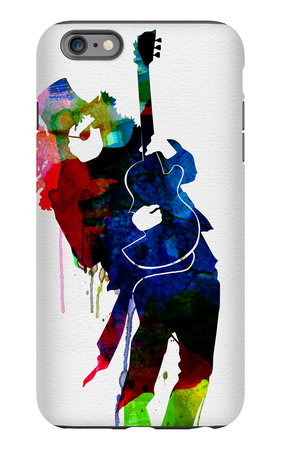 Slash Watercolor iPhone 6s Plus Case by Lora Feldman