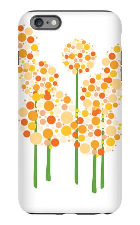 Orange Alliums iPhone 6s Plus Case by  Avalisa