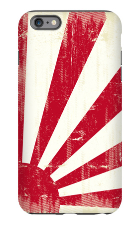 Grunge Japan Flag. An Old Japan Grunge Flag For You iPhone 6s Plus Case by  TINTIN75