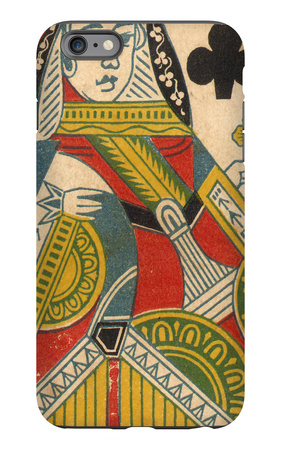 Queen of Clubs iPhone 6s Plus Case