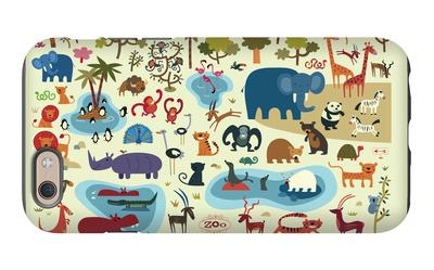 Zoo Animals iPhone 6s Case