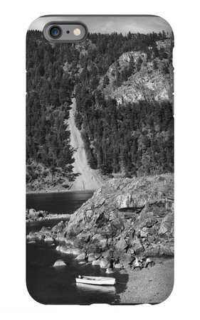 Lummi Island, WA - Lummi Rocks View with Row Boats Photograph iPhone 6s Plus Case by  Lantern Press