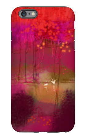 Swans on Lake iPhone 6s Plus Case