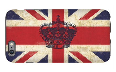 Royal Union Jack iPhone 6s Plus Case by Sam Appleman