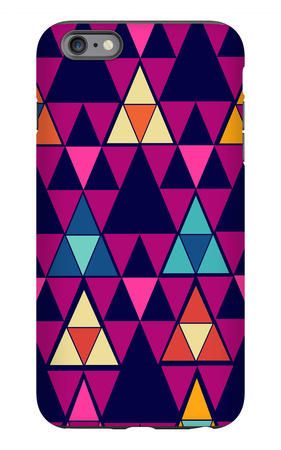 Trendy Vintage Hipster Geometric Seamless Pattern iPhone 6s Plus Case by  cienpies