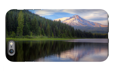 Mount Hood from Trillium Lake, Oregon iPhone 6s Plus Case by Vincent James