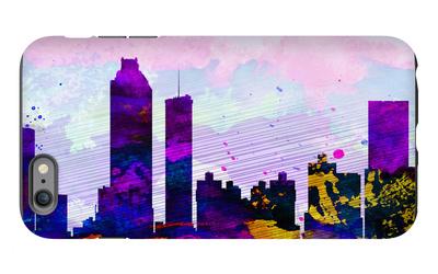 Atlanta City Skyline iPhone 6 Plus Case by  NaxArt