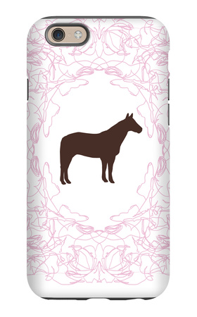 Pink Stallion iPhone 6s Case by  Avalisa