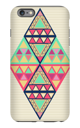 Unusual Geometric Composition iPhone 6s Plus Case by  cienpies