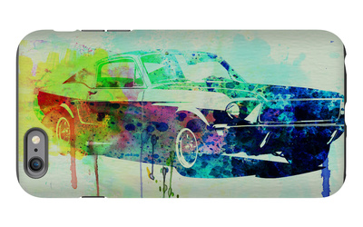 Ford Mustang Watercolor 2 iPhone 6 Plus Case by  NaxArt