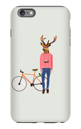 Fashionable Hipster Deer iPhone 6s Plus Case by  run4it