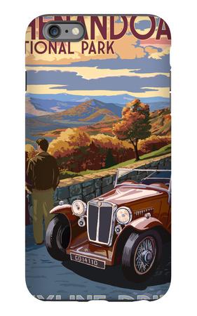 Shenandoah National Park, Virginia - Skyline Drive iPhone 6 Plus Case by  Lantern Press