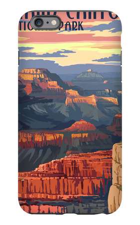Grand Canyon National Park - Mather Point iPhone 6s Plus Case by  Lantern Press
