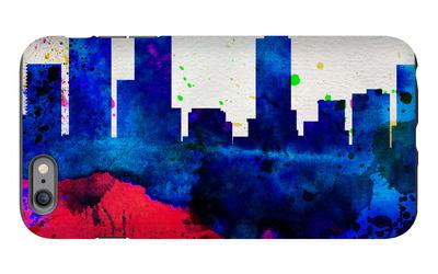 Denver City Skyline iPhone 6 Plus Case by  NaxArt