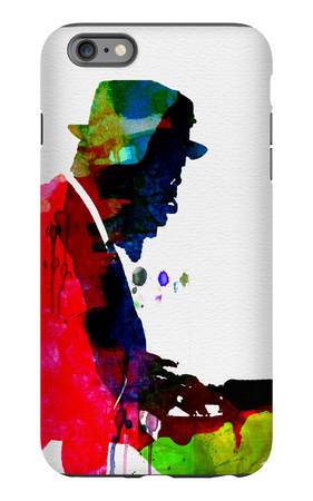 Thelonious Watercolor iPhone 6s Plus Case by Lora Feldman