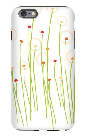 Orange Dandelion iPhone 6s Plus Case by  Avalisa