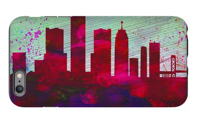 Detroit City Skyline iPhone 6 Plus Case by  NaxArt