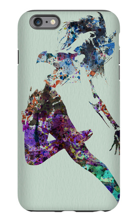 Dancer Watercolor iPhone 6 Plus Case by  NaxArt