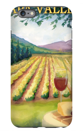 Napa Valley, California Wine Country iPhone 6s Plus Case by  Lantern Press