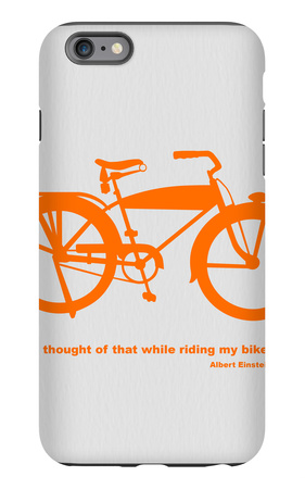 I Thought Of That While Riding My Bike iPhone 6 Plus Case by  NaxArt