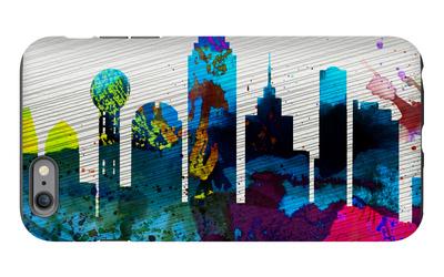 Dallas City Skyline iPhone 6 Plus Case by  NaxArt