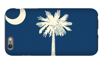 South Carolina State Flag iPhone 6s Plus Case by  Lantern Press