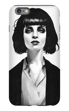 Mrs Mia Wallace iPhone 6s Plus Case by Ruben Ireland