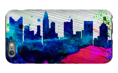 Columbus City Skyline iPhone 6 Plus Case by  NaxArt