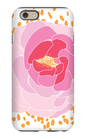 Pink Peony iPhone 6s Case by  Avalisa
