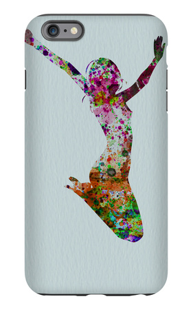 Dancer Watercolor 5 iPhone 6 Plus Case by  NaxArt