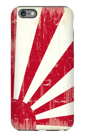 Grunge Japan Flag. An Old Japan Grunge Flag For You iPhone 6 Plus Case by  TINTIN75