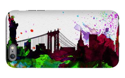 New York City Skyline 2 iPhone 6s Plus Case by  NaxArt