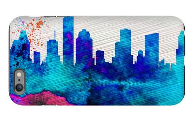 Houston City Skyline iPhone 6 Plus Case by  NaxArt
