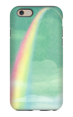 Rainbow in Bright Sky iPhone 6s Case