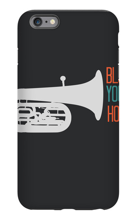Blow Your Horn Poster iPhone 6 Plus Case by  NaxArt