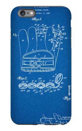 Baseball Glove Patent 1937 iPhone 6s Plus Case