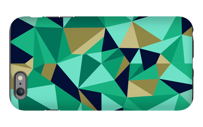 Trendy Abstract Geometric Seamless Pattern iPhone 6s Plus Case by  cienpies