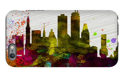 Boston City Skyline iPhone 6 Plus Case by  NaxArt