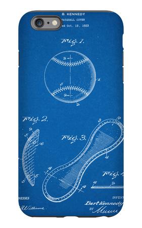 Baseball Patent 1923 iPhone 6s Plus Case